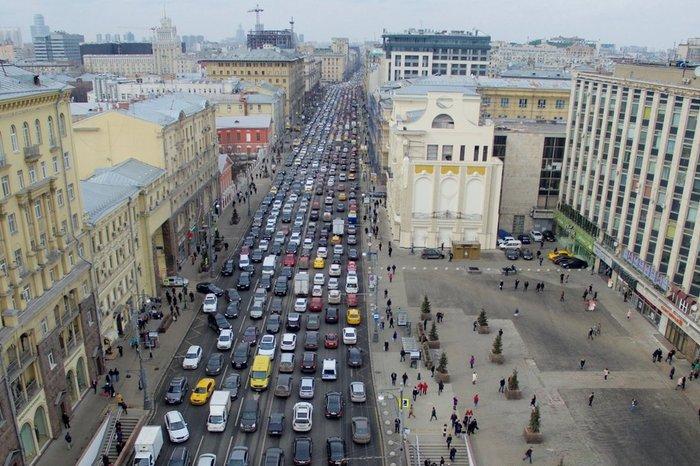 View of Tverskays Street